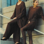 Cotton Chenille Handwoven Pant Suit & Dress, Co-designed with Suzanne Squires 1991